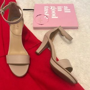 New Naturalizer Taupe Heels